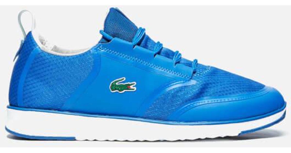 9586c02a0b36c Lacoste Men s L.ight Lt12 Spm Runner Trainers in Blue for Men - Lyst