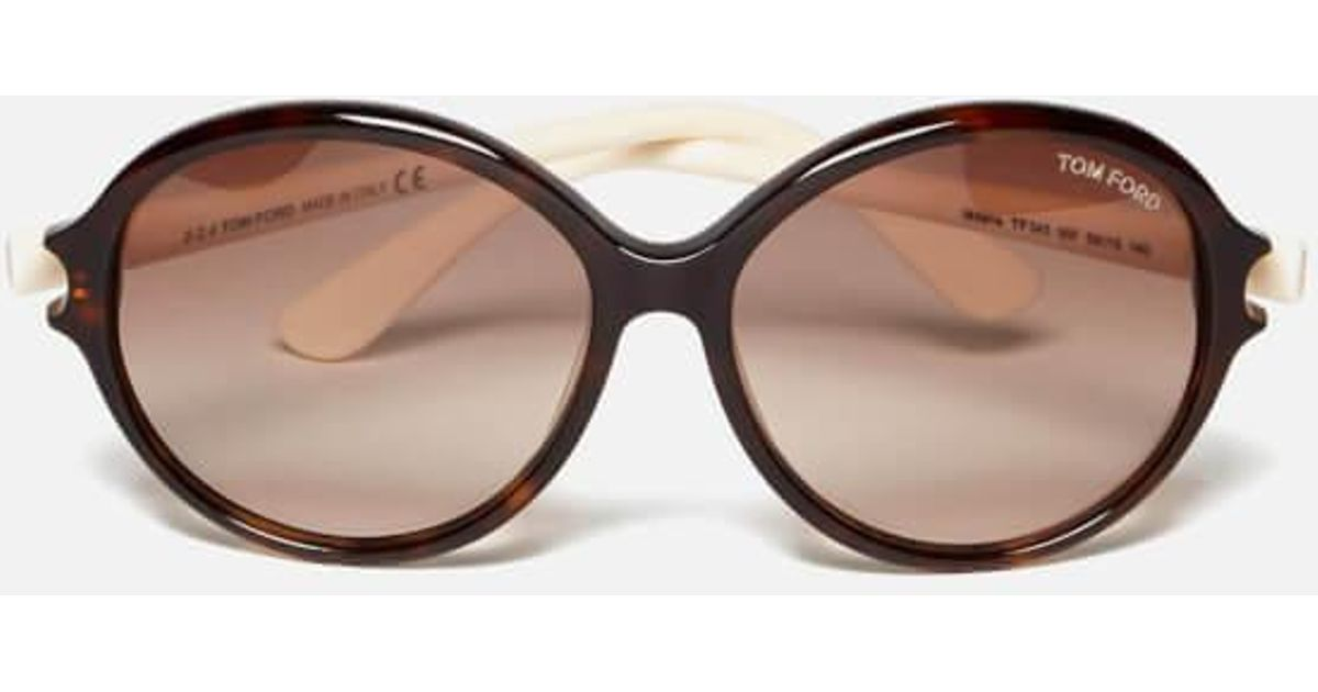 ff1068eaad94 Lyst - Tom Ford Women s Milena Sunglasses in Black