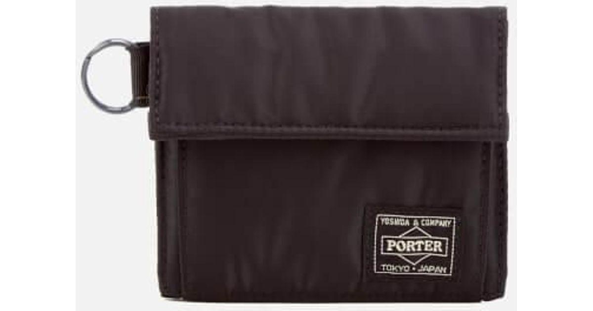 daf6777105c9 Lyst Porter Tanker Nylon Canvas Billfold Wallet In Black For Men. Porter  Wallet Yoshida Kaban ...
