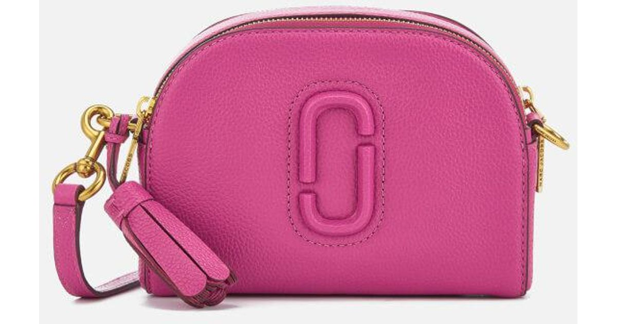3f512e2f46c6 Marc Jacobs Women s Shutter Bag in Pink - Lyst