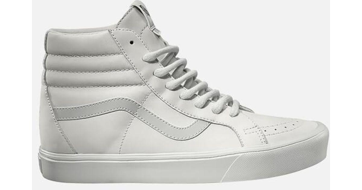43e2326ddb Vans X Rains Men s Sk8hi Reissue Lite Trainers in White for Men - Lyst