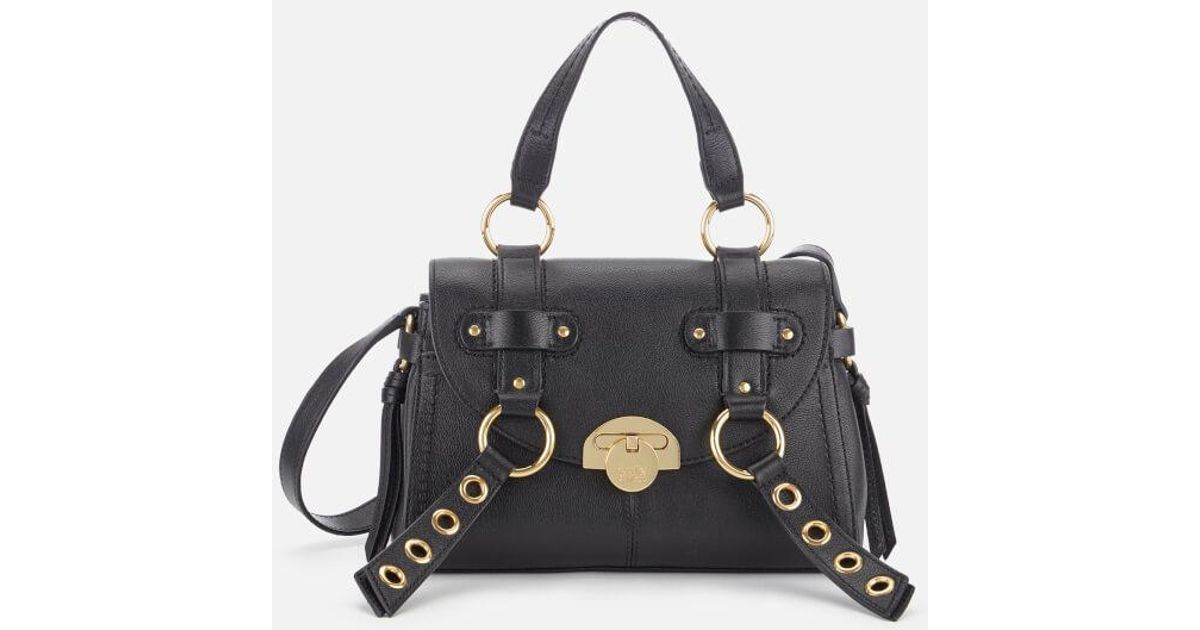 80921df118 Lyst - See By Chloé Women s Allen Leather Tote Bag in Black