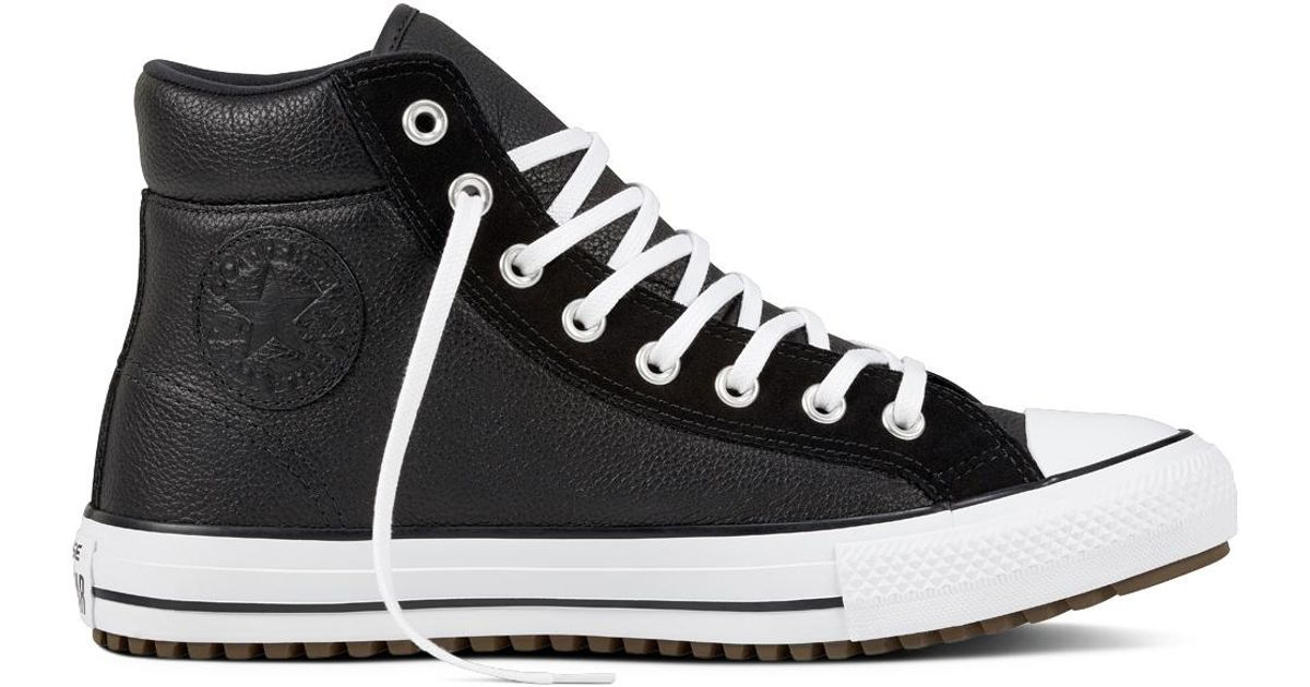 d2b55fef6f5 Converse Chuck Taylor All Star Boot Pc Leather + Suede in Black for Men -  Lyst