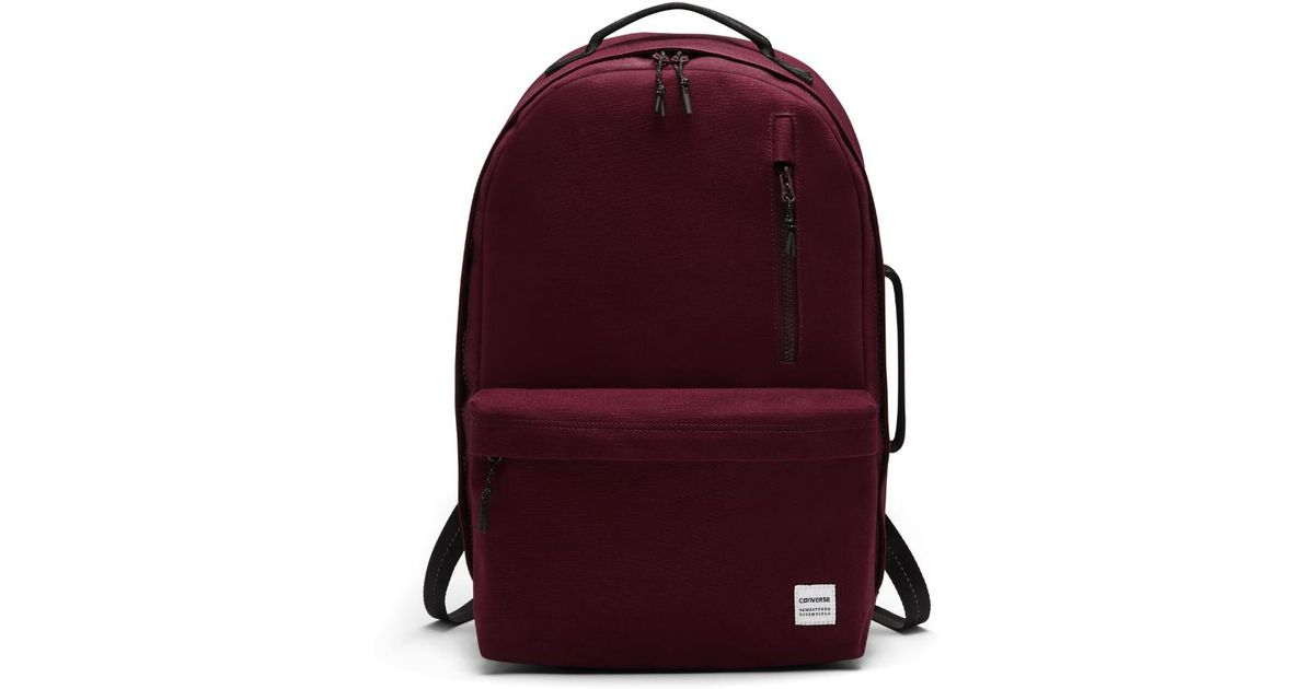 357f0a2923 Lyst - Converse Essentials Backpack (red) in Red for Men