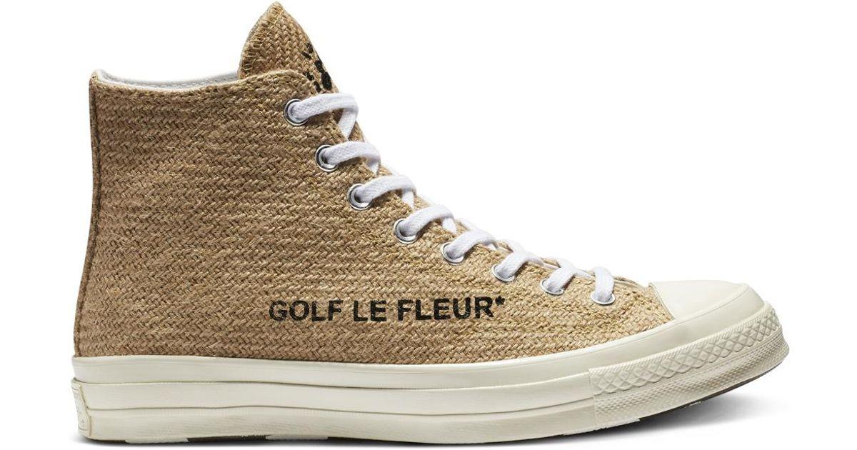 35ca6974f72 Converse X Golf Le Fleur Chuck 70 Hi for Men - Lyst