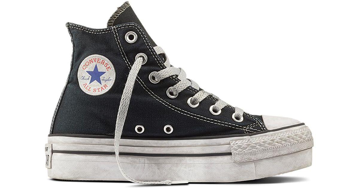 all star converse chuck taylor platform