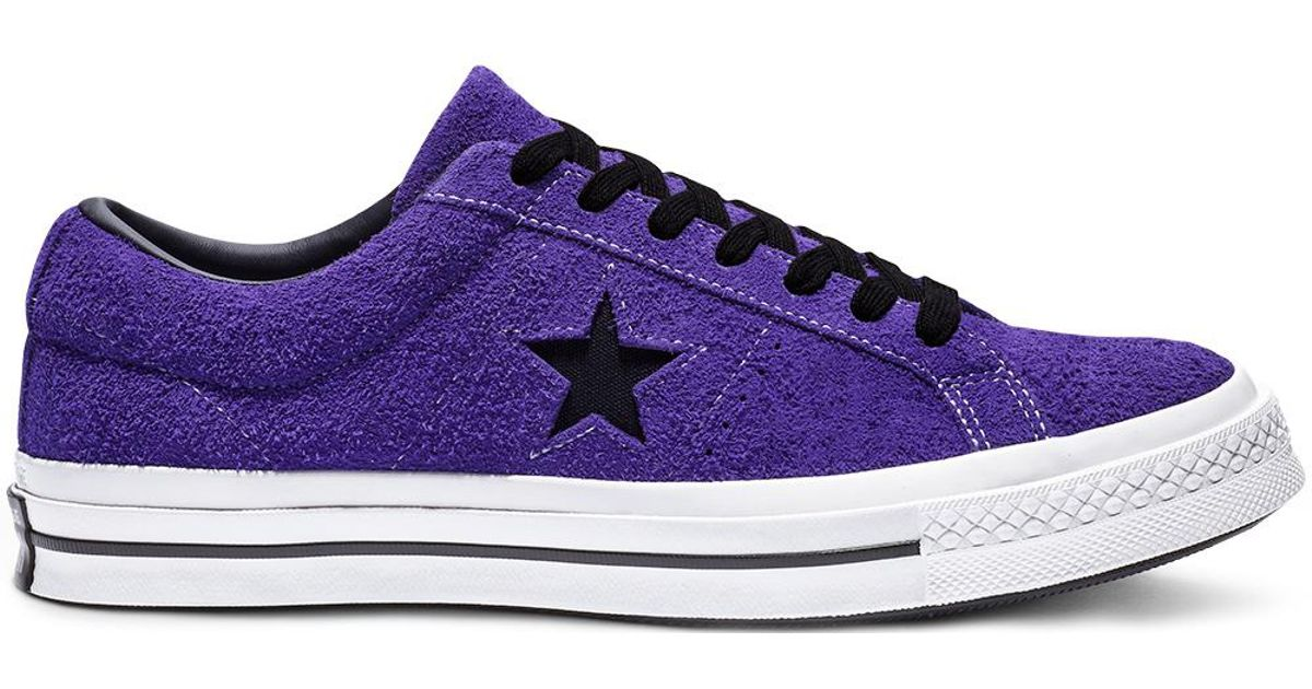 1f02a83efa76 Converse One Star Dark Star Vintage Suede Low Top in Purple for Men - Save  54% - Lyst