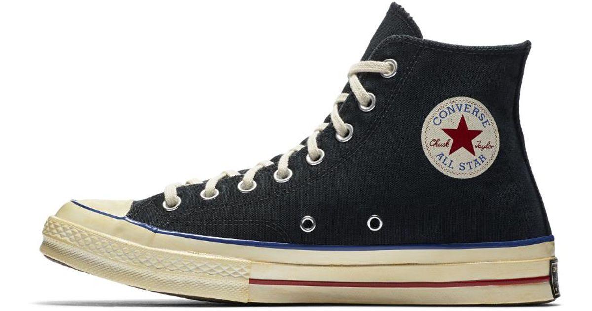 Converse Black Chuck 70 Vintage Canvas High Top Shoe for men