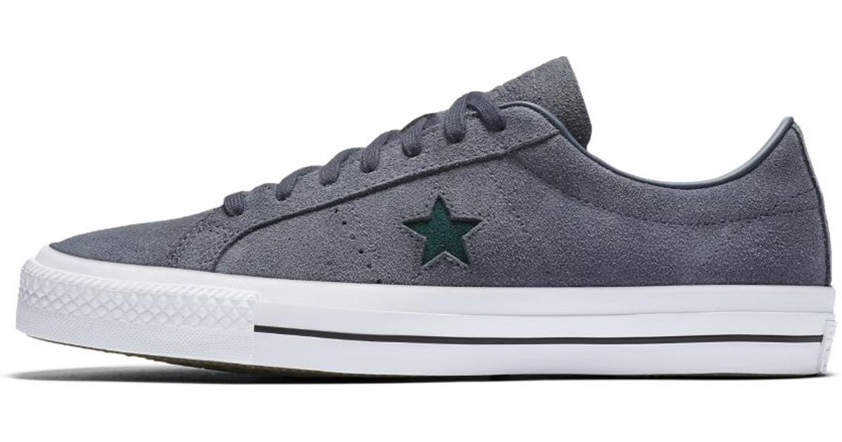 c021f53035be Lyst - Converse One Star Pro Oiled Suede Low Top Men s Skateboarding Shoe  in Blue for Men