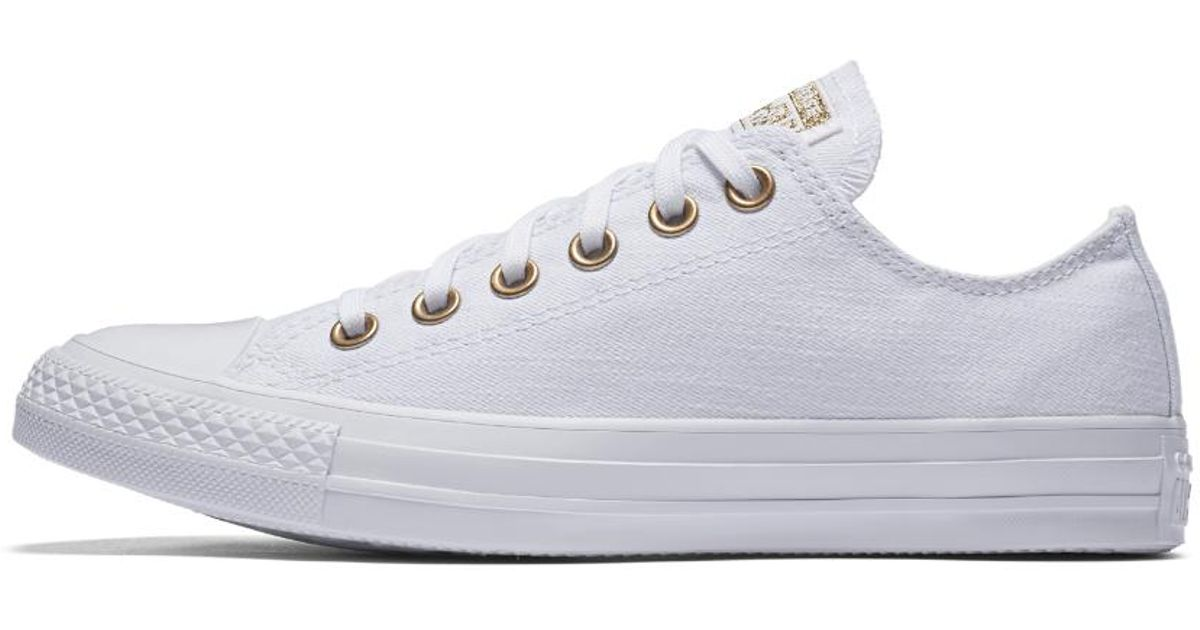 Converse Women's Chuck Taylor All Star Washed Linen Low Top Sneaker IfG9Cyb4