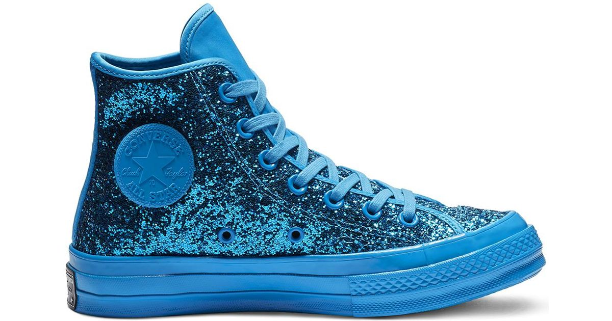 60a8040ca0a6 Converse Chuck 70 After Party Glitter High Top in Blue for Men - Lyst