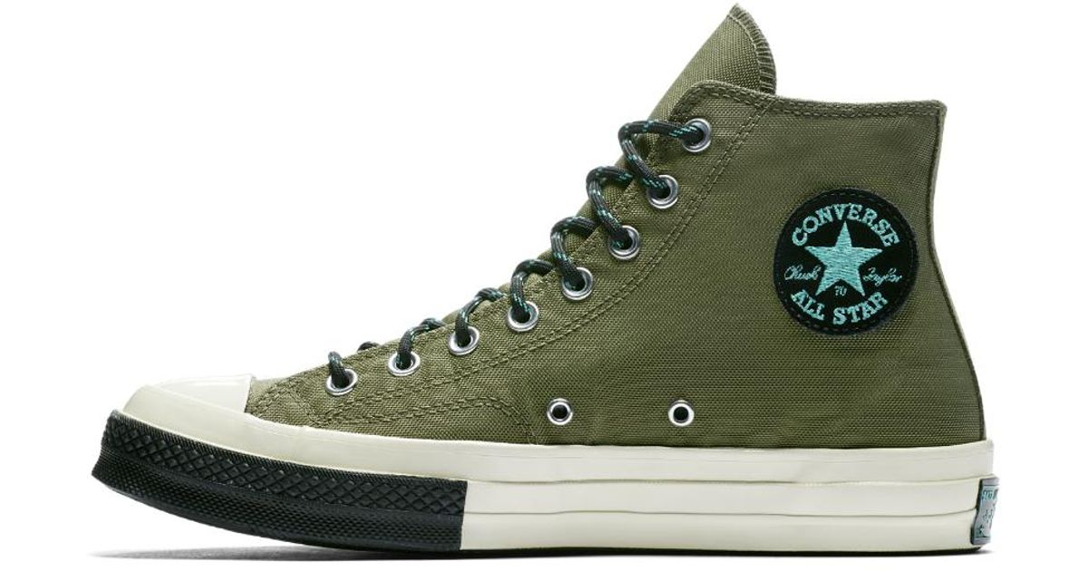 0ddd79ecdf2151 Lyst - Converse Chuck 70 Trek Tech High Top Men s Shoe in Green for Men