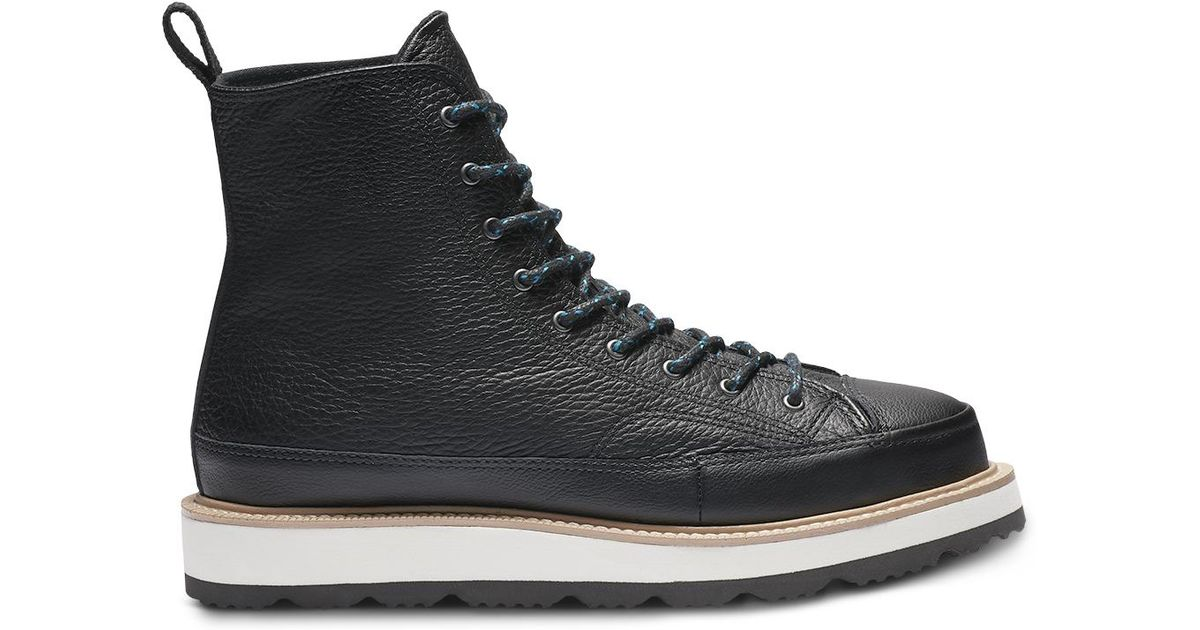 cc16c6ba2344 Converse Chuck Taylor All Star Og Explorer Boot Leather in Black - Lyst