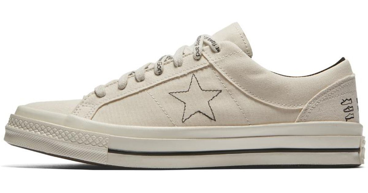 63bb7c386a1f Lyst - Converse X Midnight Studios One Star Low Top Shoe in White for Men