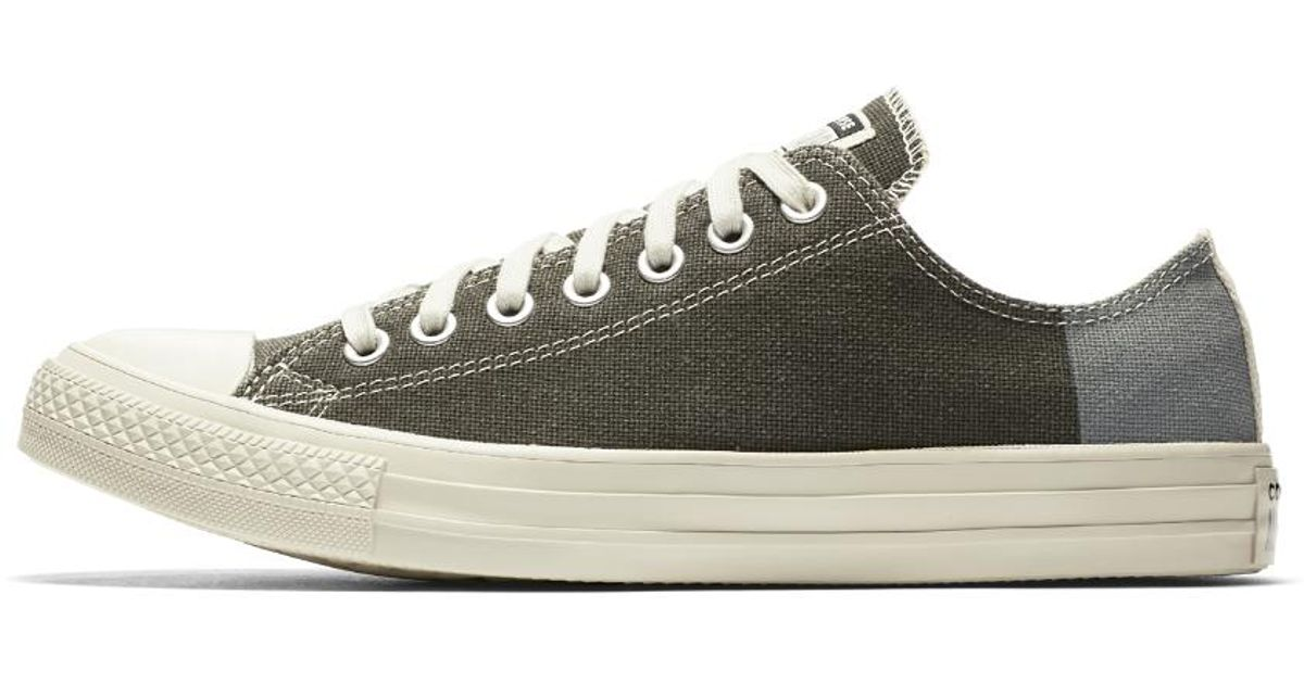 fb27a848370ea6 ... Lyst - Converse Chuck Taylor All Star Jute Americana Low Top Shoe in  Green wholesale outlet ...