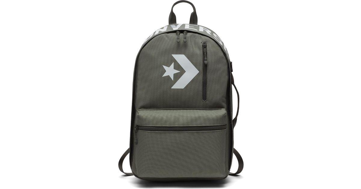 7fc3c20bd21 Converse Cordura Street 22 Backpack (green) in Green - Lyst