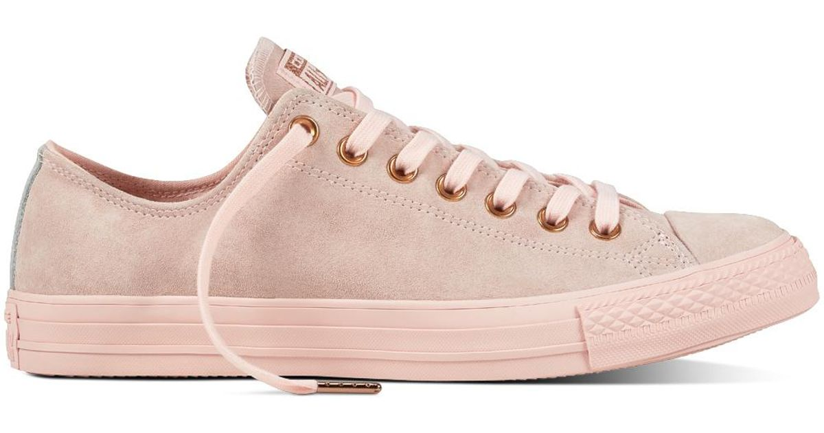 1ff82fa5f5a7 Converse Chuck Taylor All Star Suede in Pink for Men - Lyst