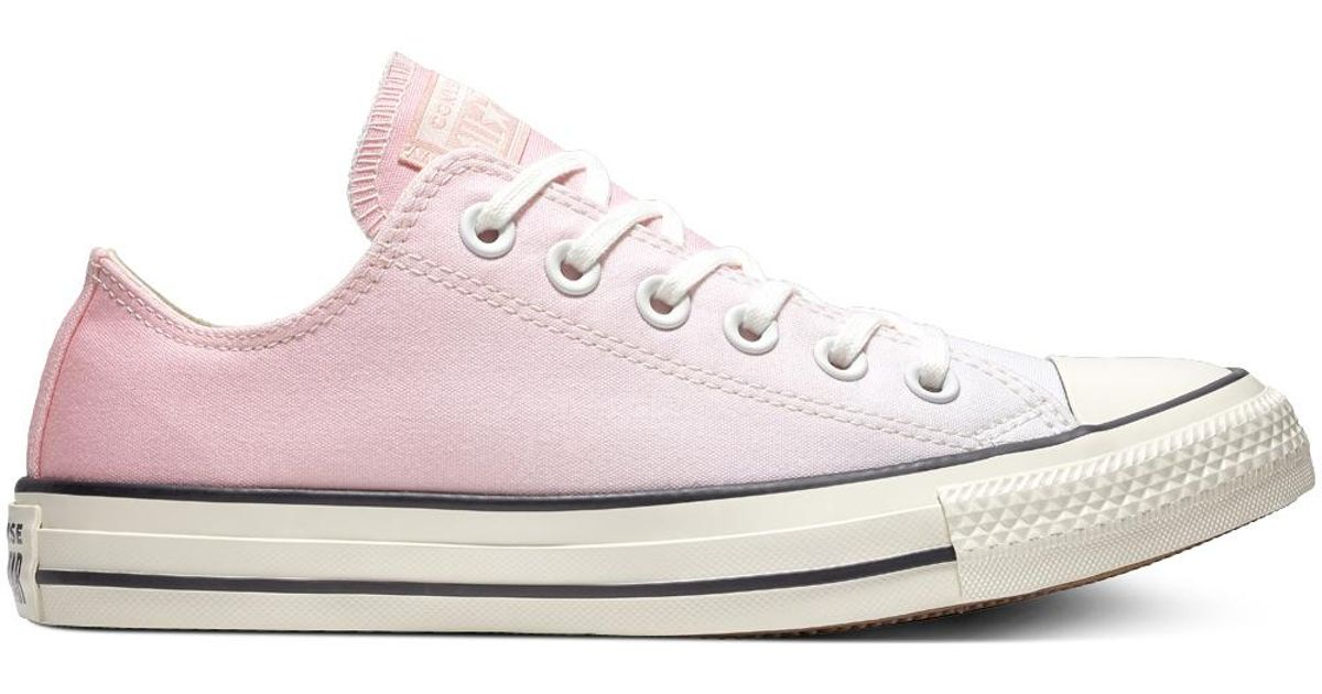 b2630b5e917c91 Converse Chuck Taylor All Star Ombre Wash Low Top in Pink - Lyst