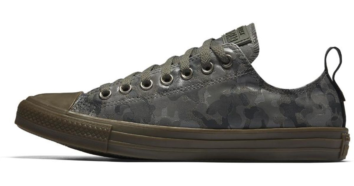eb6d93cecda46 Converse Chuck Taylor All Star Utility Camo Low Top Men's Shoe in Gray for  Men - Lyst