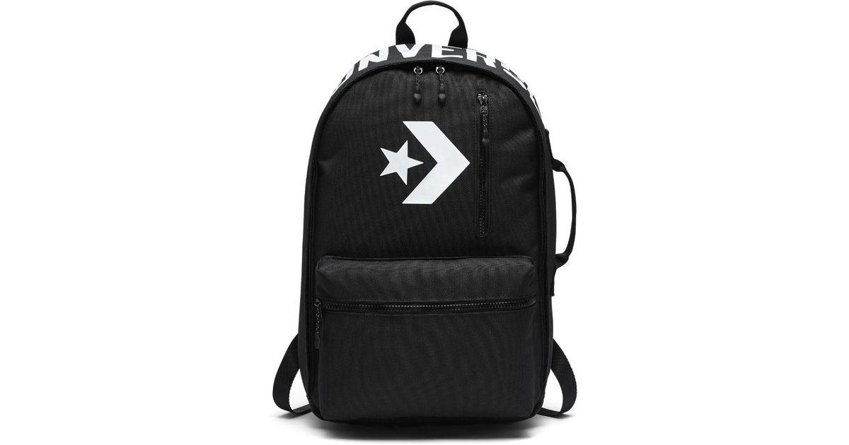 dc770fa7aae Converse Cordura Street 22 Backpack (black) in Black - Lyst