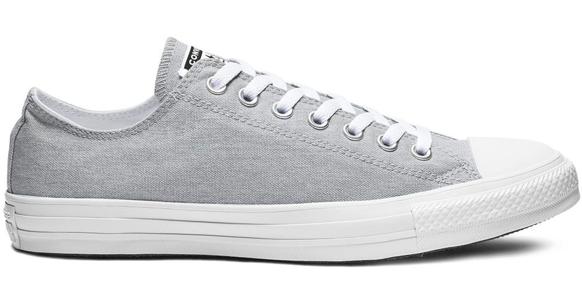 c945153bb16b Converse Chuck Taylor All Star Court Fade Low Top in Gray for Men - Lyst