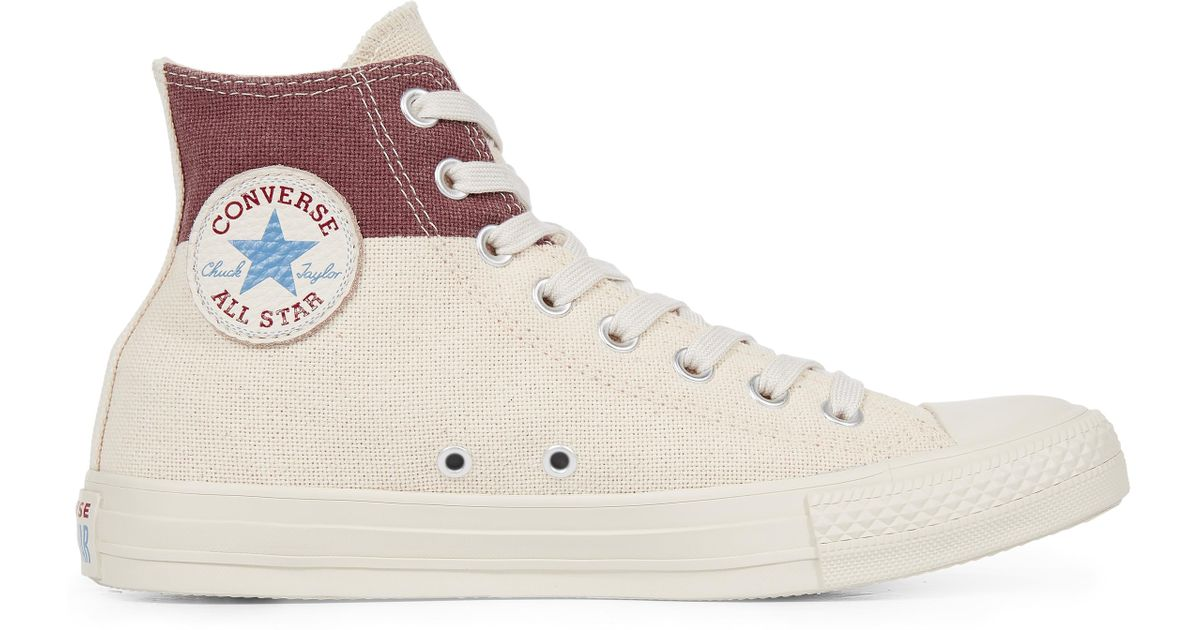 Converse Chuck Taylor All Star Americana Block in Brown for Men - Lyst 04d66fbca