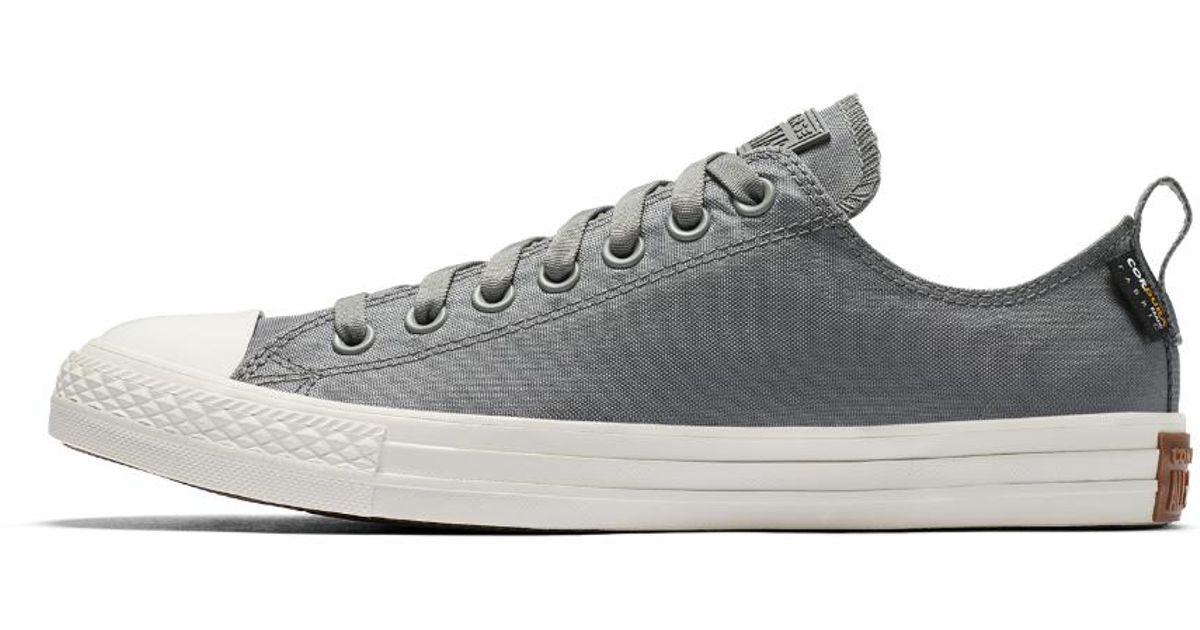 uk availability 9c258 6f921 Converse Chuck Taylor All Star Cordura Low Top Men s Shoe in Gray for Men -  Lyst