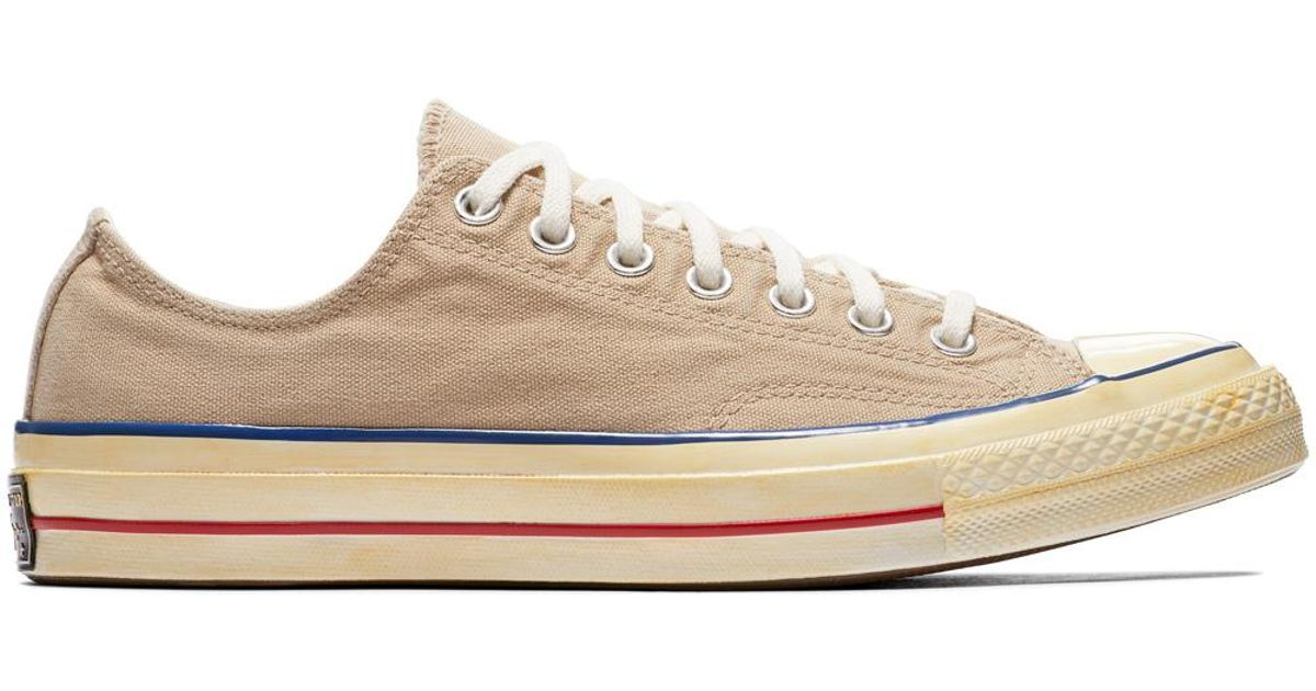 70785e48af0 Converse Chuck Taylor All Star  70 Vintage  36 Canvas in Natural for Men -  Lyst