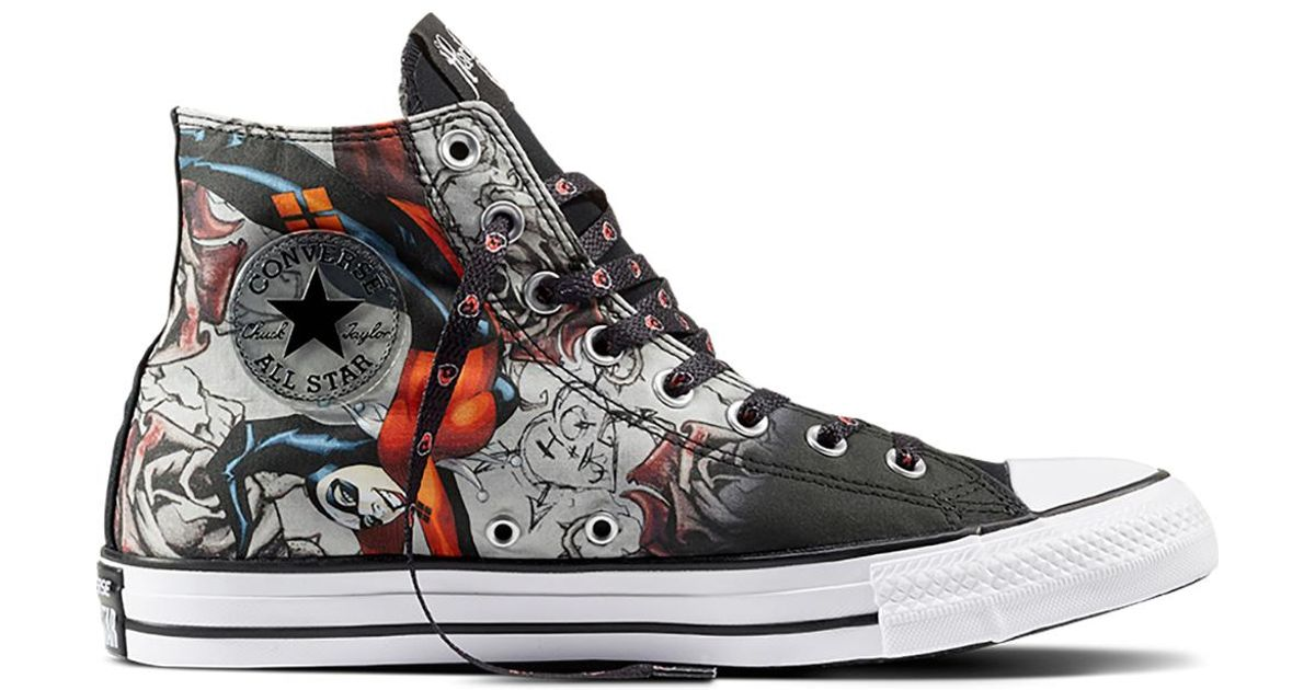 662c5adb8884ca Converse Chuck Taylor All Star Dc Comics Harley Quinn in Black for Men -  Lyst