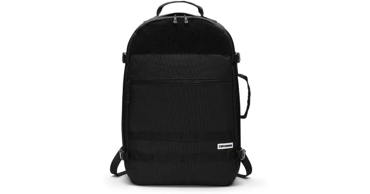 92feae34846 Lyst - Converse Cordura Utility Backpack (black) in Black for Men