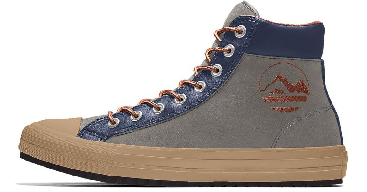 9ffb7ccb4e8d Lyst - Converse Custom Chuck Taylor Winter Boot in Blue for Men
