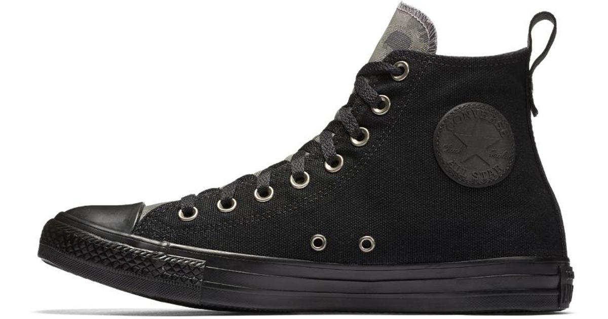 3ca3db8f84ad6 Converse Chuck Taylor All Star Utility Camo High Top Men's Shoe in Black  for Men - Lyst