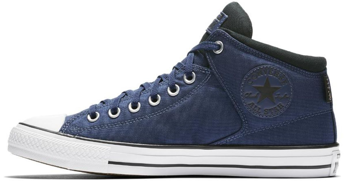 9a2457bb4f6 Lyst - Converse Chuck Taylor All Star Cordura High Street High Top Men s  Shoe in Blue for Men