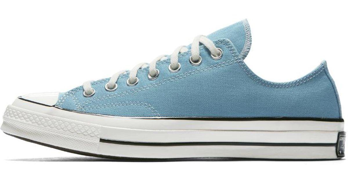 81ee95a7fc33 Lyst - Converse Chuck 70 Summer League Low Top Men s Shoe in Blue for Men