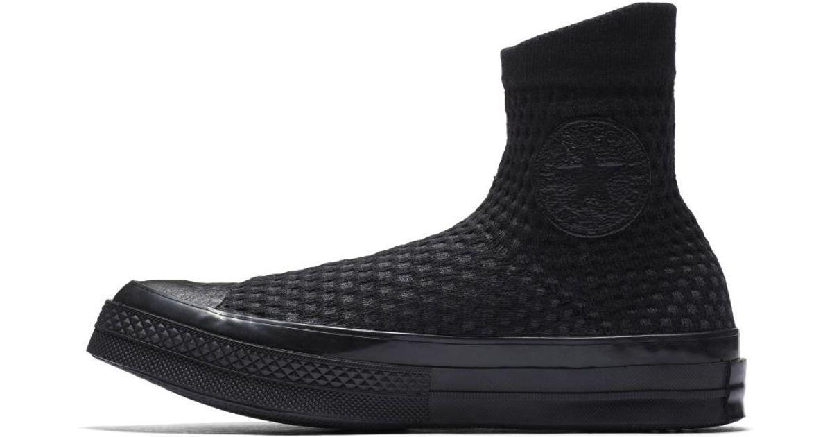 f4feafe5acf9 Lyst - Converse Chuck Knit Women s Shoe in Black for Men