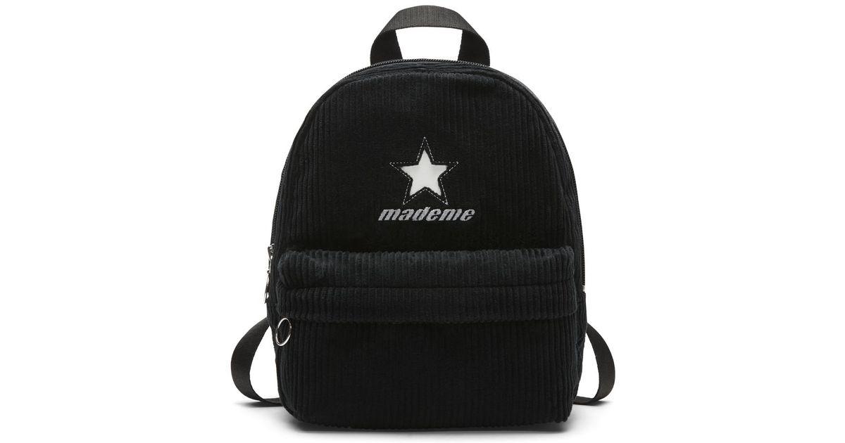 Lyst - Converse X Mademe Super Mini Women s Backpack (black) in Black 092507aebee24