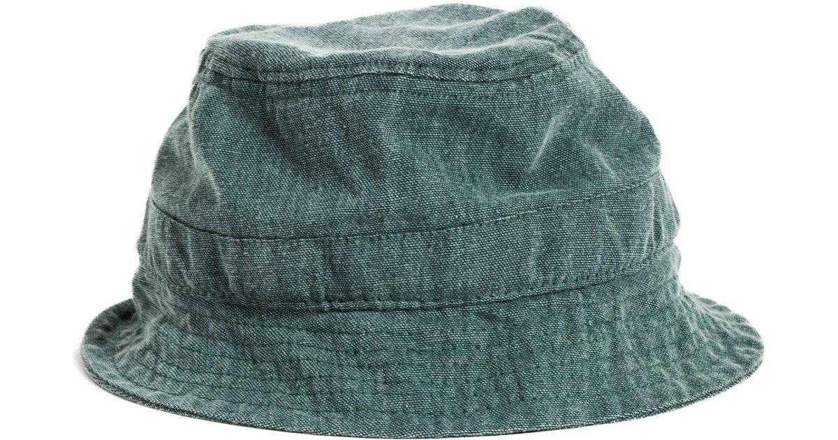 d21585abc5dcd Corridor NYC Bucket Hat - Broken Twill - Green in Green for Men - Lyst