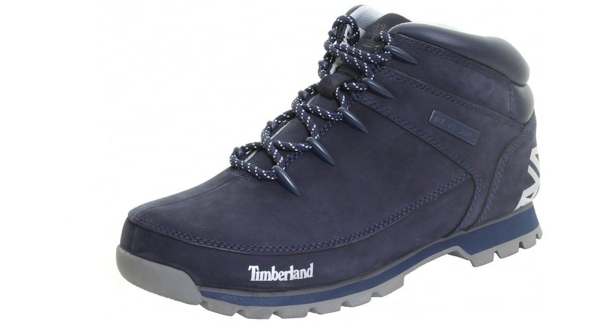 7b1fa915630 Timberland - Blue Euro Sprint Mens Hiker Boot for Men - Lyst
