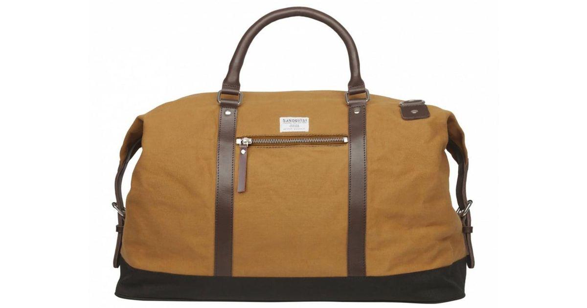 a5d125c071 Lyst - Sandqvist Jordan Weekend Bag for Men