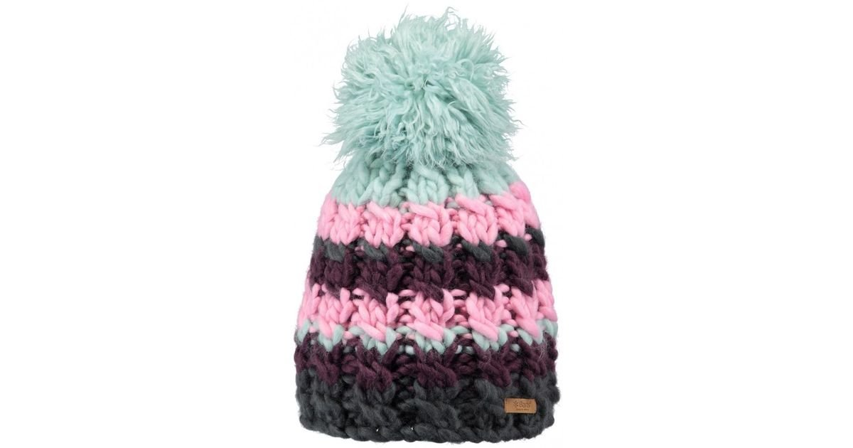 bb9a67e3bacda Barts Feather Beanie in Green - Lyst
