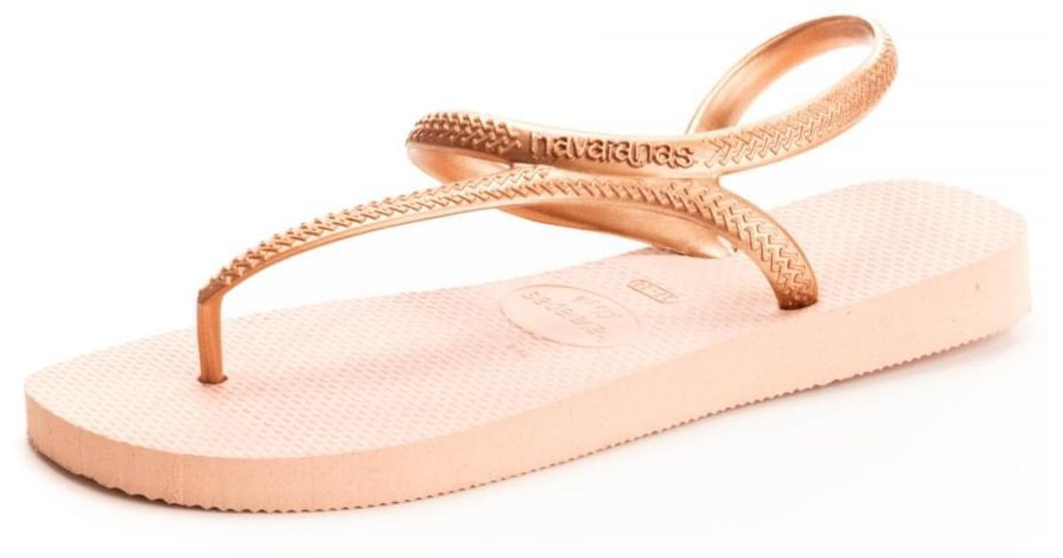 f19539bf29f2d0 Lyst - Havaianas Flash Urban Women s Sandals In Multicolour in Pink