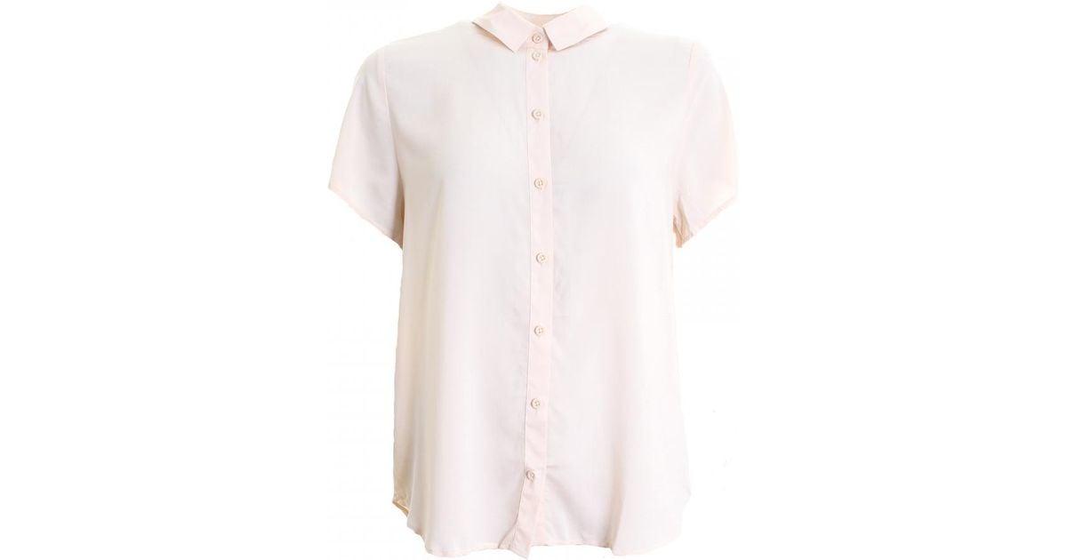 575124be1d2481 Lyst - Samsøe   Samsøe Maj Ss Womens Shirt in Pink