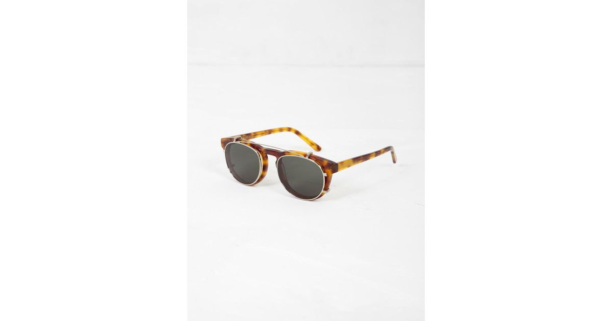 ef93e3937f0c Han Kjobenhavn Timeless Clip On Sunglasses for Men - Lyst