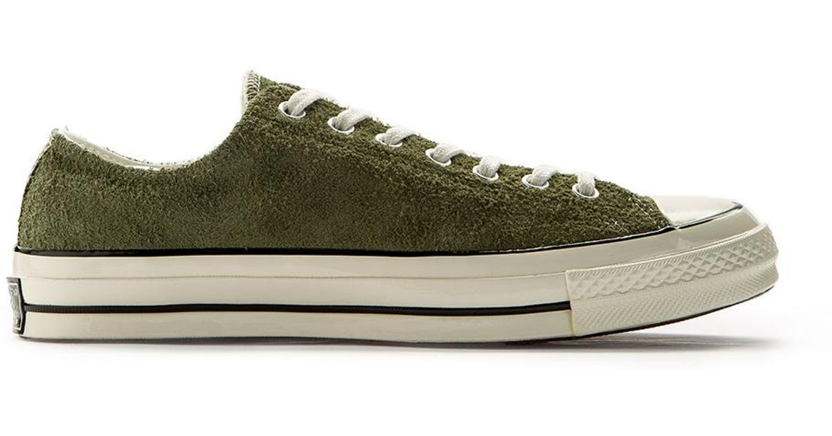 e163300a7e04 Lyst - Converse Chuck Taylor All Star 70 Ox Suede Olive in Green for Men