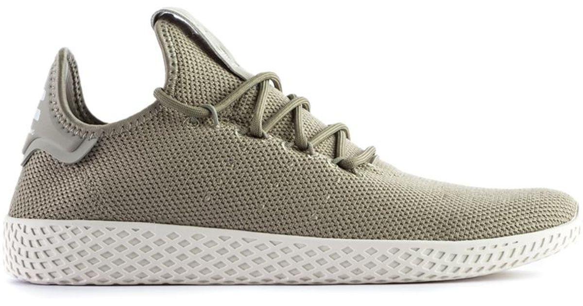 258c9008f Lyst - adidas Originals Pharrell Williams Tennis Hu Olive in Green for Men