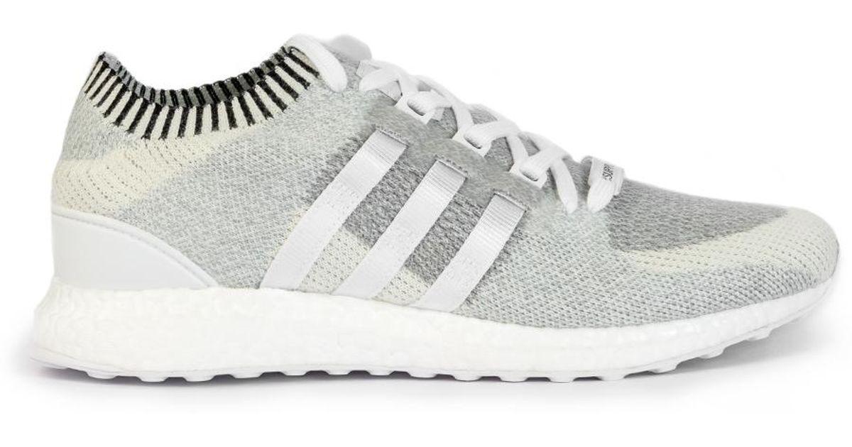 0eb01df01df1 Adidas Originals Eqt Support Ultra Primeknit Vintage White in White for Men  - Lyst