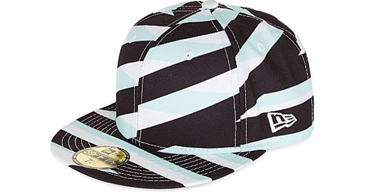 5c1b00fe584 Kenzo Contrasting Stripes Baseball Cap - For Men in Black for Men - Lyst