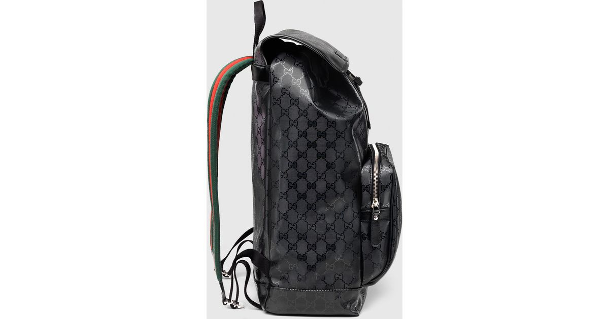 62f82e109af0 Gucci 500 By Gg Imprimé Backpack in Black - Lyst
