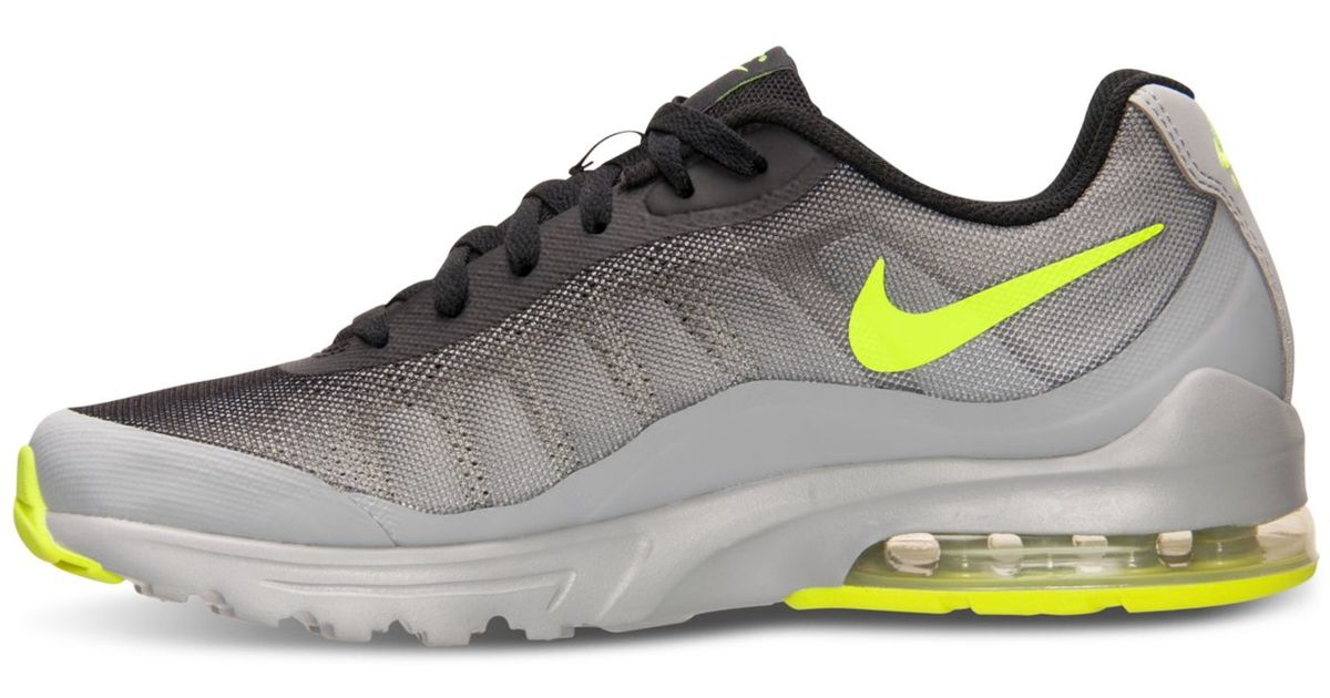 competitive price c3e8c fc9f7 Nike Men s Air Max Invigor Print Running Sneakers From Finish Line in Gray  for Men - Lyst
