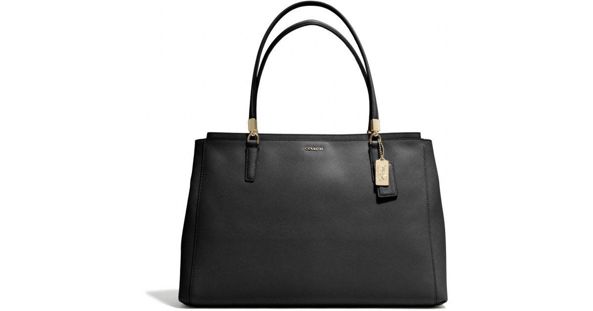 af76943aca754 ... usa lyst coach madison large christie carryall in saffiano leather in  black 6b23e d1e5d